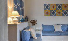 Modernes Wohnzimmer mit Sofaecke