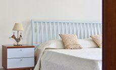 Schlafzimmer 1 oben mit Doppelbett