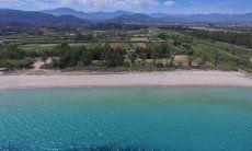 Luftaufnahme Orri und Strandabschnitt