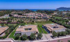 Luftansicht und Entfernung zum Meer  Villa Campidano 21