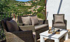 Loungebereich auf der Terrasse