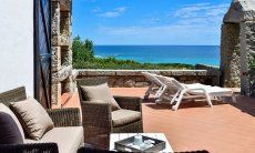Terrasse Casa 24 mit sensationellem Meerblick