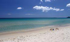 Costa Rei, weißer Strand am kristallklaren Meer