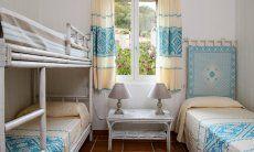 Schlafzimmer 2 für 4 Kinder
