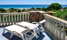 Terrasse mit freiem Meerblick