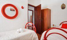 Schlafzimmer 2 mit Einzelbetten