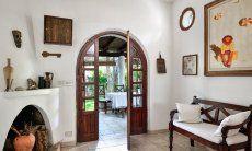Tür vom Wohnzimmer zur Terrasse