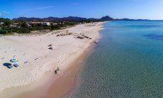 Luftansicht der Costa Rei