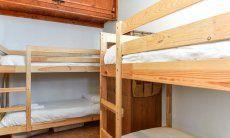 Schlafzimmer 2 mit 2 Stockbetten
