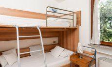 Schlafzimmer 2 mit Hochbett