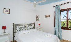 Schlafzimer 1 mit Doppelbett