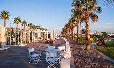Strassencafé Golfo Aranci