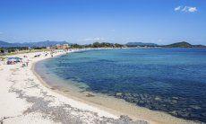 Strand von Pula, 7 km. entfernt