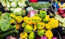 Regionale Waren der sardischen Bauern