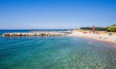 Sauberes Meerwasser bei Porto Rotondo