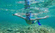 Schnorcheln im Meer bei Olbia