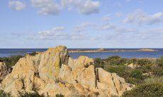 Küste von Capo Comino, Golf von Orosei