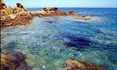 Strand von Portu de S'Illxi, Capo Ferrato, 6 km. entfernt