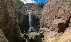 Wasserfall Sa Spendula, Villacidro, Sardinien
