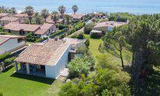 Luftansicht, Villa Serena, Costa Rei