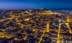 Cagliari by night, Südsardinien