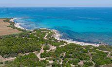 Strand von Sant Elmo, Südsardinien