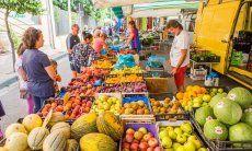 Wochenmarkt in Muravera