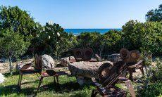 Garten und Meerblick Villetta 3 Costa Rei