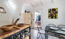 Küche und details Casa 1 Sant'Elmo