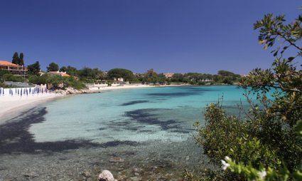 Bucht von Golfo Arancibei Olbia