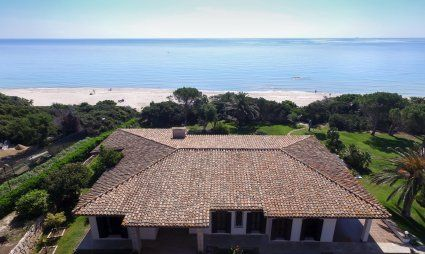 Villa Nautilus Luftaufnahme - Costa Rei