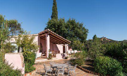 Aussenbereich: Garten, Privater Pool und Terrasse