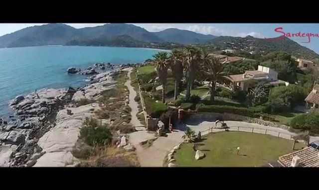 Video Costa Rei und Villasimius aus der Luft