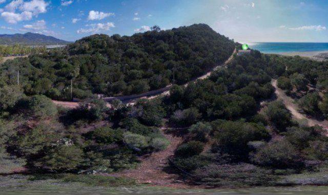 Panorama 360° Villa Beatrice und Villa Bau Cannas