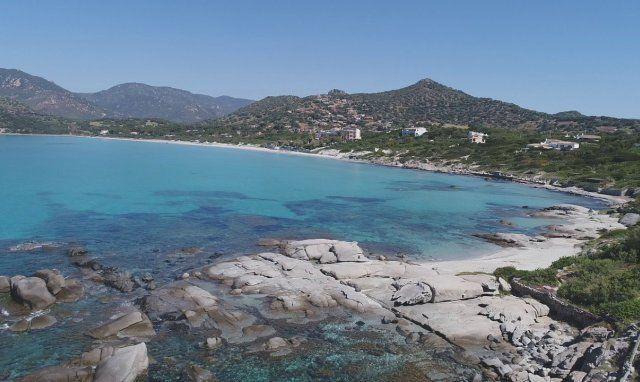 Spiaggia del Riso und Campulongu