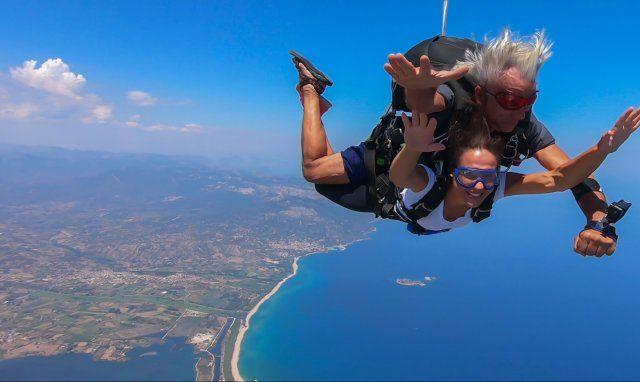 Fallschirmsprung - Ogliastra
